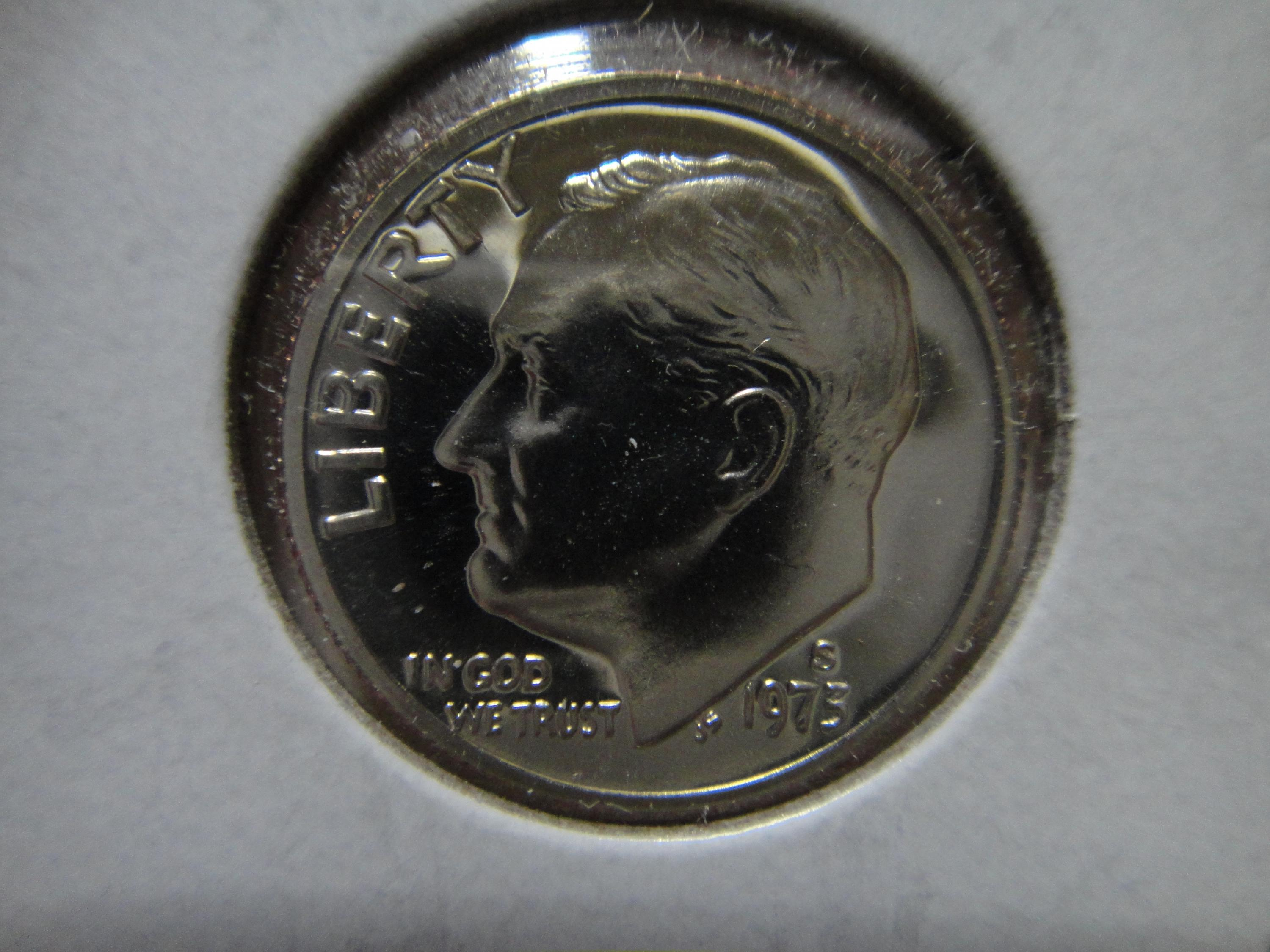 1973-S  PROOF DIME