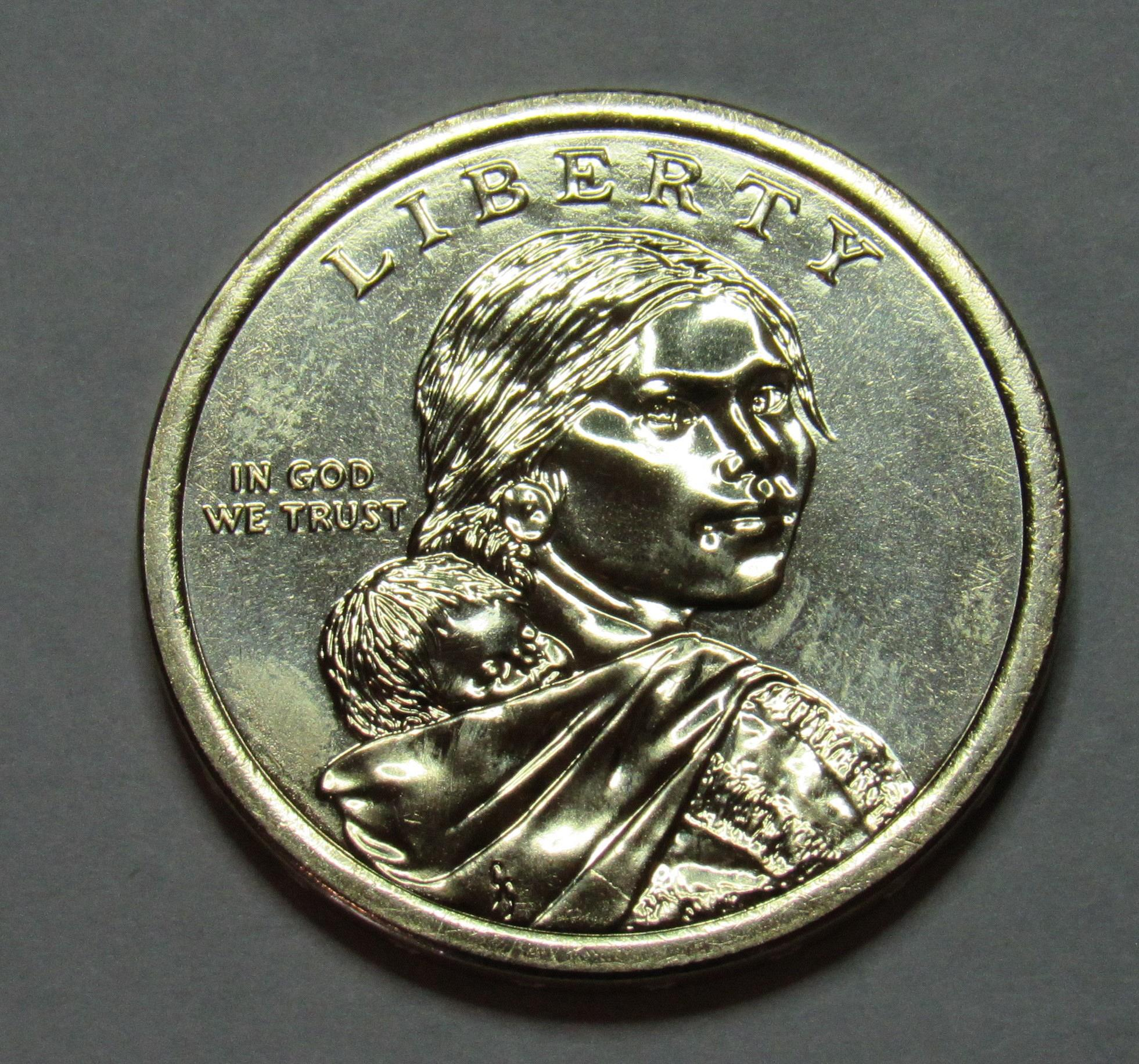 "2019 D Sacagawea Native Dollar US Mint Coin /""BU/"" Space Program"