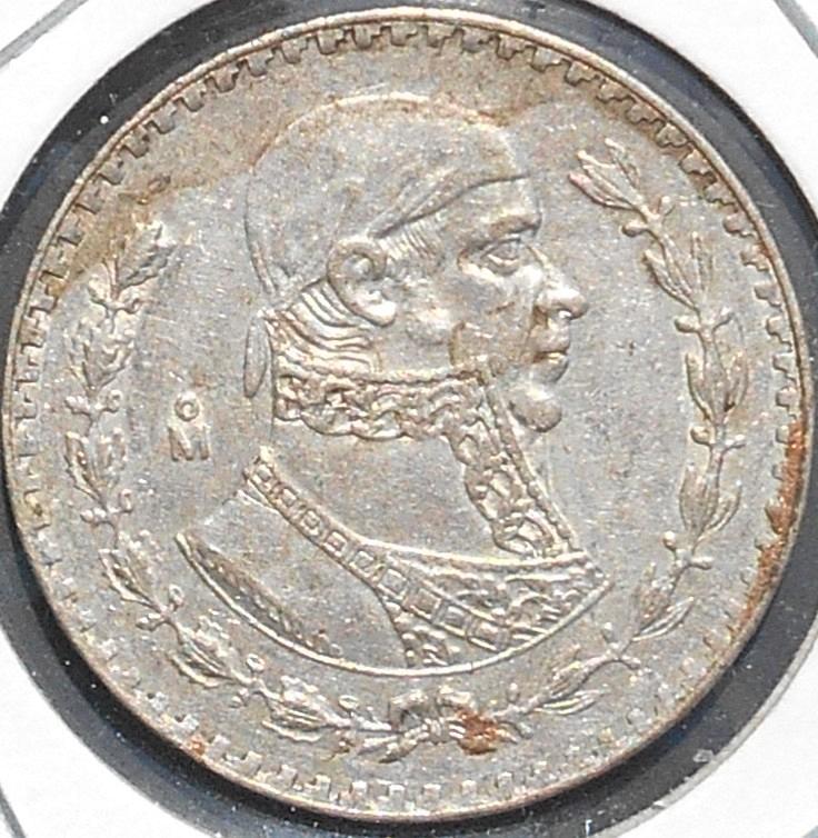 1966 un peso mexican coin value