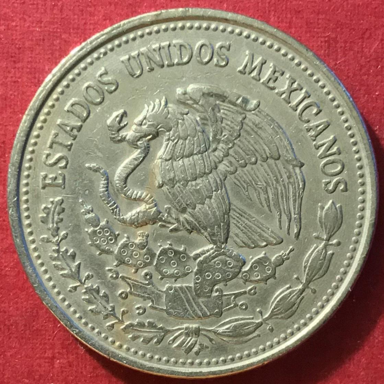 1987 mexican 500 peso coin