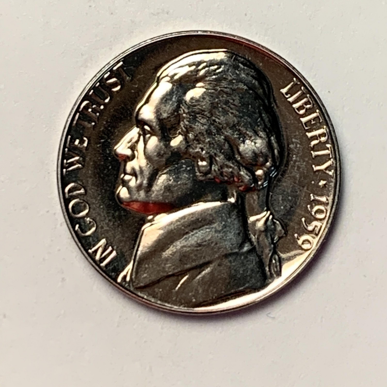 1959 Proof Jefferson Nickel