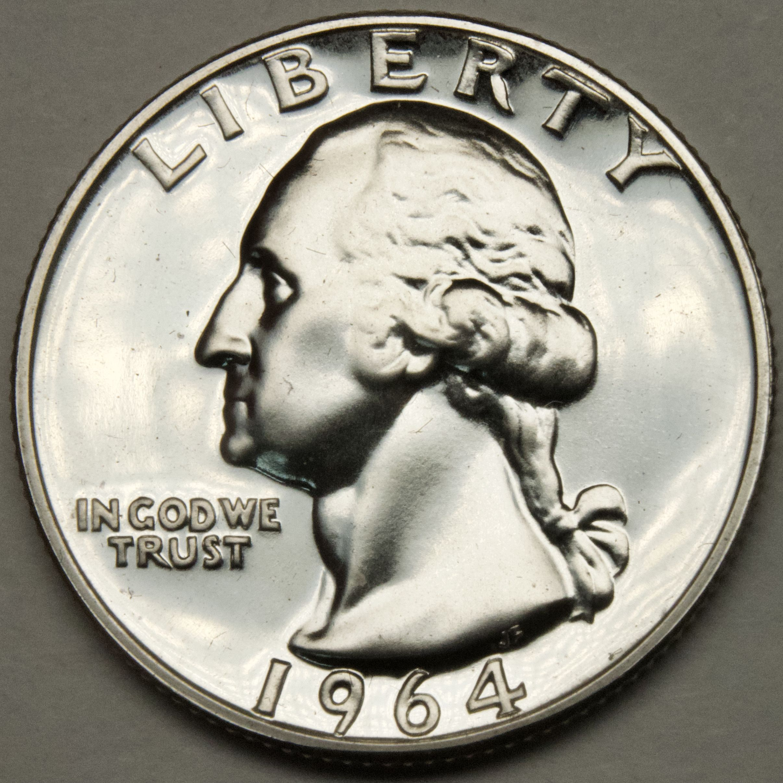 1964 Washington Quarter #E217AK
